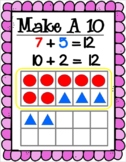 Math Strategy Posters - Make a 10 to add, doubles, open number line, etc.