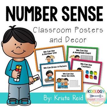 Number Sense Classroom Decor