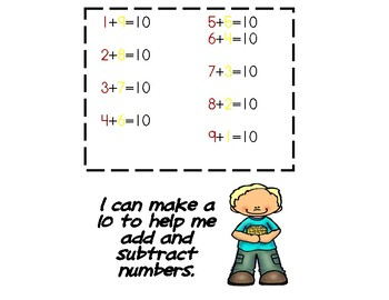 Math Strategy Posters & Mats with Flashcards (+, - and Mis