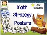 Math Strategy Posters for 1st or 2nd Grade