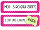 Math Strategy Strips-Polka Dot (Hot Pink)