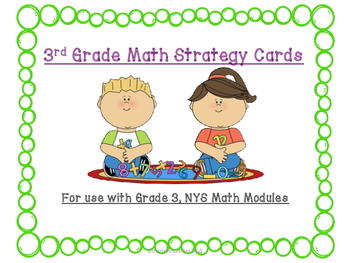 EngageNY Module, Grade 3 - Math Reference Cards/Test Prep (NYS)