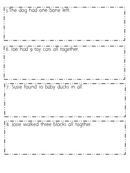 Math Stretches For Math Journals