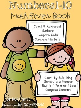 Math Student Book: Numbers 1-10