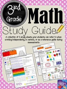 Math Study Guide: 3rd Grade