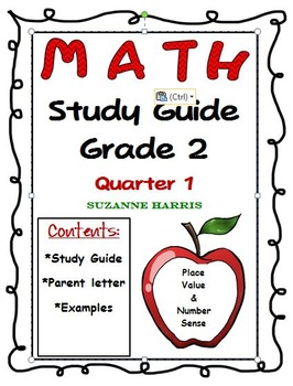 Math Study Guide Place Value Number Sense