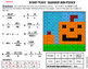 Math Substitution Review Mystery Picture - Fractions