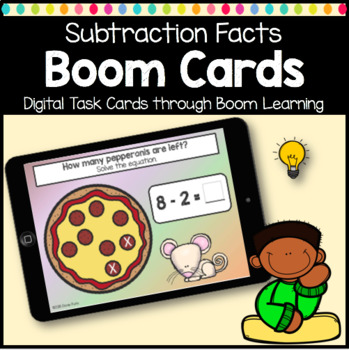 Math Subtraction Facts Boom Cards Digital Learning