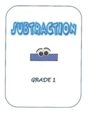 Math Subtraction - First Grade