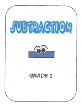 Math Subtraction - First Grade