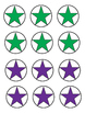 Math Subtraction Star Worksheets #s 1-5 (Sample)