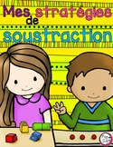 Math Subtraction Strategies Flip Book ~ French