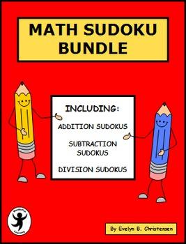 Math Sudoku Bundle