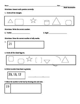 Math Summative