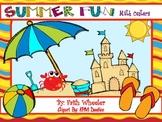 Summer Fun Math Centers