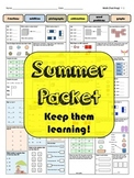 2nd going to 3rd Math Summer Packet