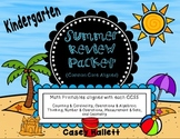 Math Summer Review Packet {Common Core Aligned}