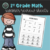#TPTfireworks Math Summer Review Sheets