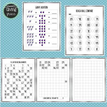 Math Summer Review Sheets #ringin2019