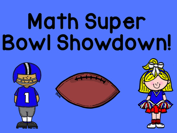Math Super Bowl Showdown!