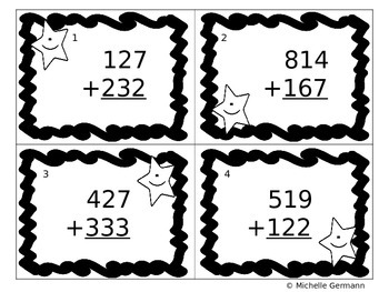 Math Superstars 3 digit addition with Regrouping