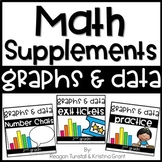 Math Supplements Graphing Bundle 2nd Grade