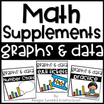 Math Supplements Graphs and Data Bundle