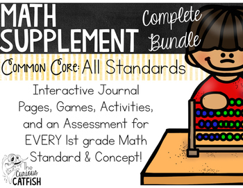 Math Supplements: A Complete Bundle 1st Grade