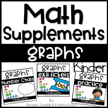 Math Supplements Kindergarten Graphing Bundle