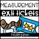 Math Supplements Kindergarten measurement Bundle