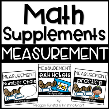 Math Supplements Kindergarten measurement Bundle