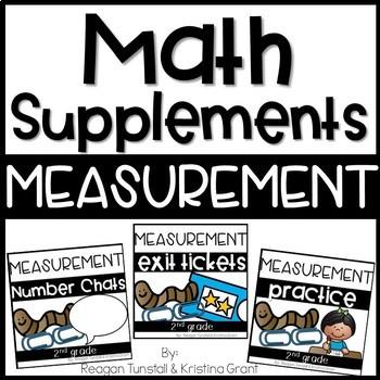 Math Supplements Measurement Bundle 2nd Grade