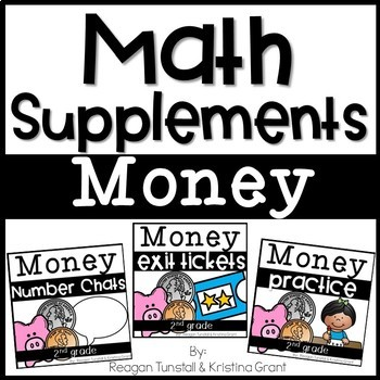 Math Supplements Money Bundle 2nd Grade