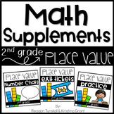 Math Supplements Place Value Bundle Second Grade
