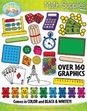 Math Supplies Clipart {Zip-A-Dee-Doo-Dah Designs}