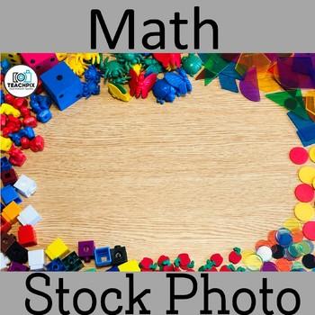 Math Supplies Stock Photo
