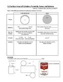 Math: Surface Area & Volume Unit (Workplace Apprenticeship Math)