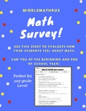 Math Survey