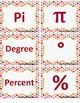 Math Symbol Matching Card Set - Geometry, Algebra, Computa