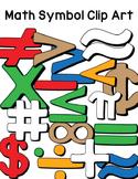 Math Symbol Clip Art