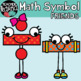 Math Symbol Friends Clipart