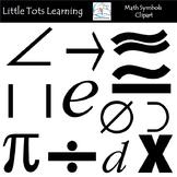 Math Symbols Clip Art