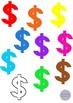 Math Symbols Clip Art Set 2 - Percent, Dollar, Brackets, Greater Than, Equal