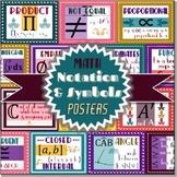 Math Symbols & Notation (POSTERS)