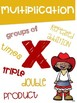 Math Symbols Posters with a Cowboy Cowgirl Theme K-3rd Grade