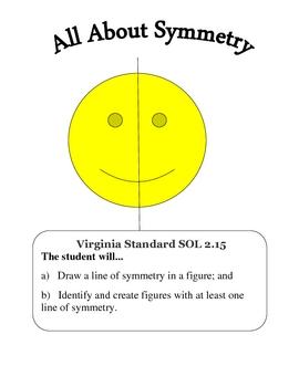 Line Of Symmetry Worksheet Teaching Resources Teachers Pay Teachers