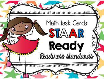 Math TASK CARDS {Readiness Standards} FREEBIE