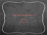 Math TCAP Review Week 1