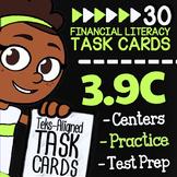 Math TEK 3.9C ★ Planned & Unplanned Spending ★ 3rd Grade Financial Literacy