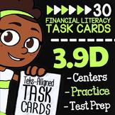 Math TEK 3.9D ★ Credit: Lending & Borrowing ★ 3rd Grade Fi